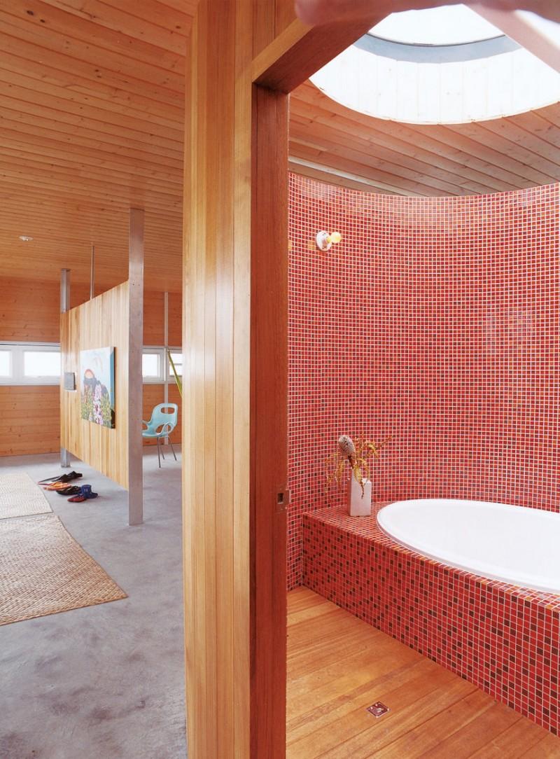 Làm đẹp phòng tắm với gạch men