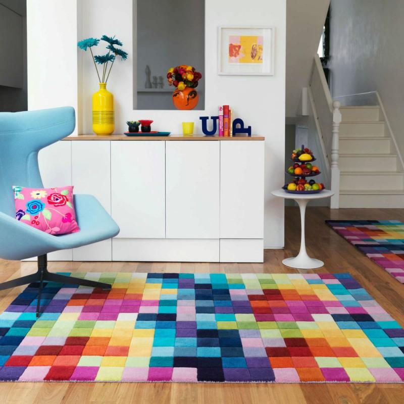 Những mẫu thảm trải sàn độc đáo cho nhà đẹp