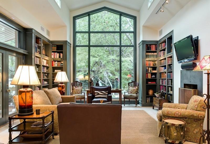 Kệ trang trí phòng khách thêm hoàn hảo