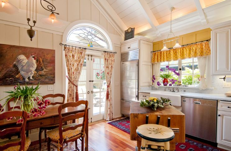 Những mẫu rèm cửa sổ tuyệt vời dành cho phòng bếp