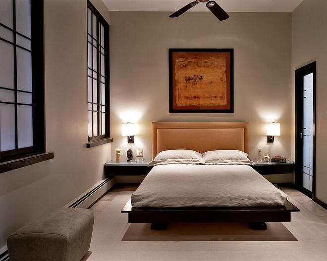 Bình yên với phòng ngủ kiểu Nhật