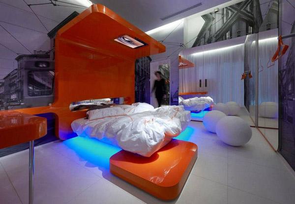 Những mẫu giường ngủ tương lai khiến bạn mê mẩn