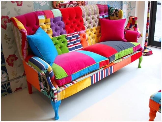 Mùa đông ấm áp với sofa kì lạ
