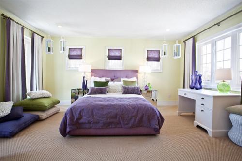 Màu sắc phòng ngủ nói gì về tính cách của bạn