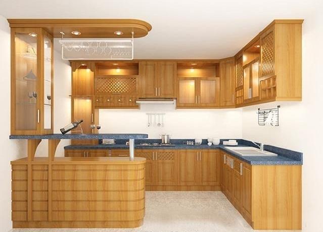 Những kiểu tủ bếp đẹp bạn nên biết