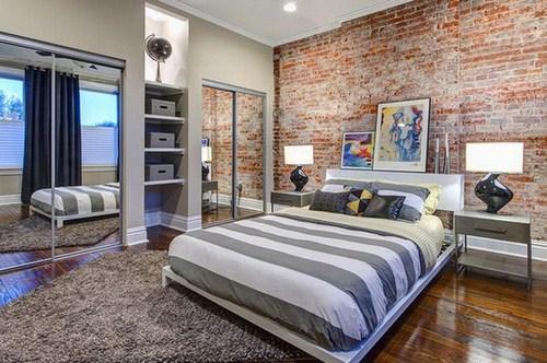 Gạch trần trong thiết kế nội thất và ngoại thất
