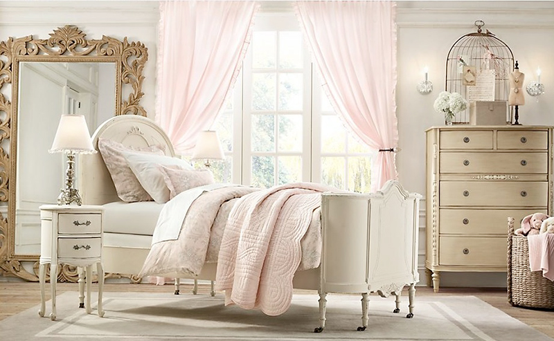 Những phòng ngủ cực đẹp cho bé gái