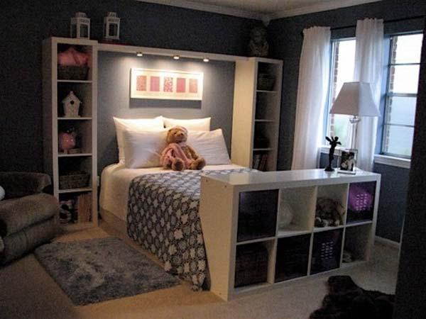 Ý tưởng thiết kế chân giường hữu ích
