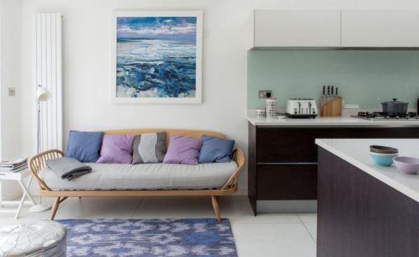 Màu tím hoa oải hương nhẹ nhàng cho ngôi nhà lãng mạn