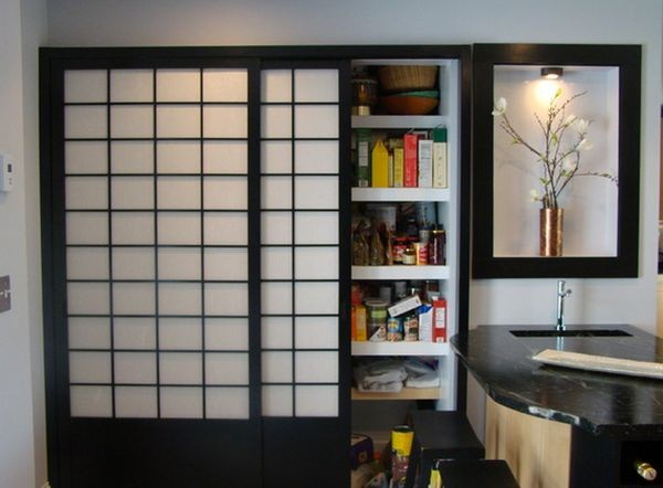 Nhà đẹp nhờ mẫu cửa gỗ dạng trượt phong cách Nhật