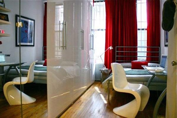 Cách bài trí cực chất của hai căn hộ dưới 30m2