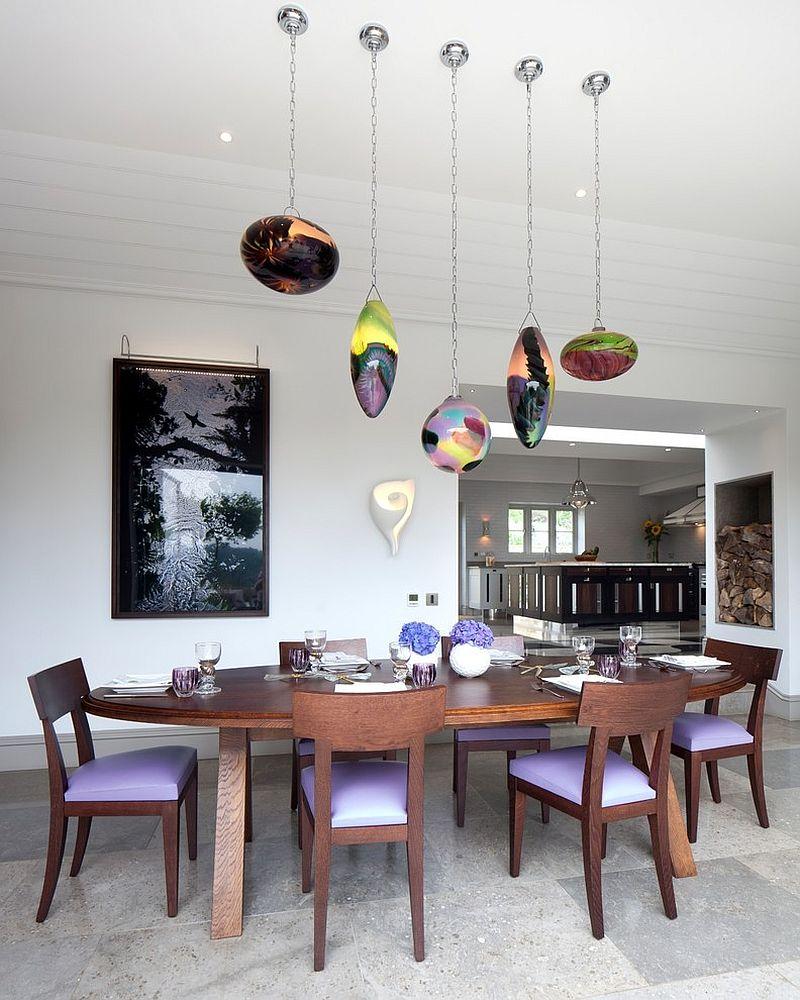 15 thiết kế đèn bàn ăn đẹp miễn chê