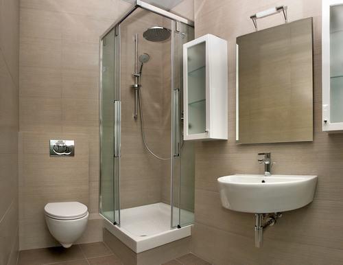 Những mẫu nhà tắm thiết kế trong góc nhỏ