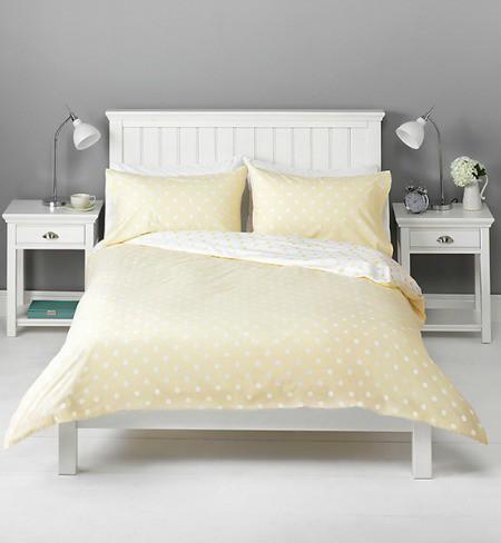 Phòng ngủ tươi tắn với 12 kiểu giường màu vàng