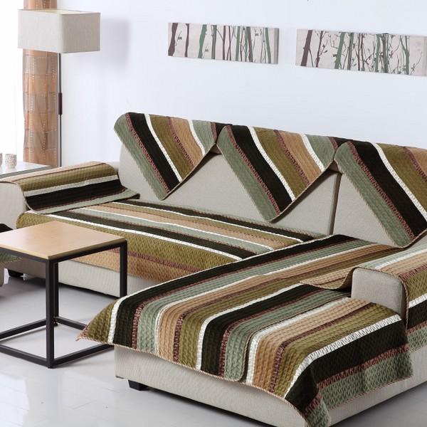 Những tấm lót sofa với họa tiết ấn tượng