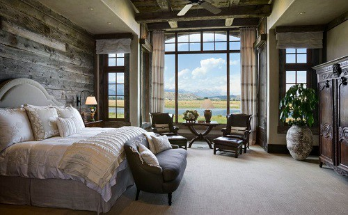 Sử dụng chất liệu gỗ cho phòng ngủ
