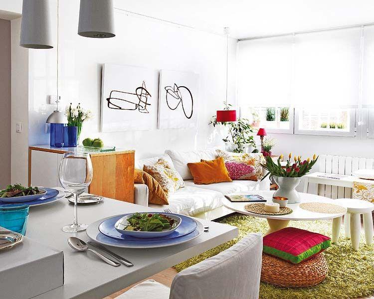 Nội thất hiện đại cho căn hộ ngập tràn sắc xuân