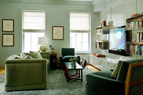 Khám phá những thiết kế kệ tivi treo tường tuyệt đẹp