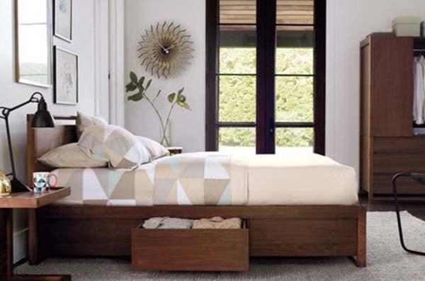 Cách bài trí không gian phòng ngủ nhỏ hẹp hợp lý
