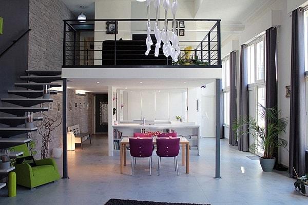 Gác lửng là phương án tuyệt vời cho chung cư 40 m2