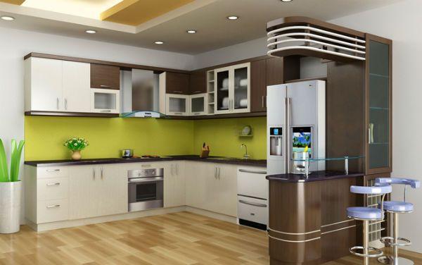 Cách hóa giải cửa chính nhìn thẳng vào bếp