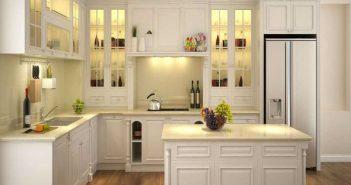 Cách hóa giải cửa chính nhìn thẳng vào bếp theo phong thủy