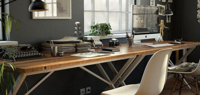 Những không gian làm việc đẹp theo phong cách hiện đại