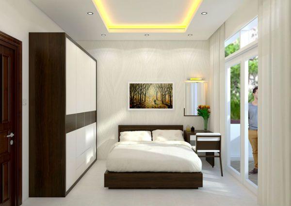 Bố trí phòng ngủ gồm 2 cửa ra vào là tốt hay xấu?