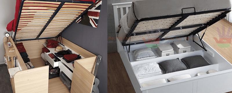 Giường kết hợp phòng chứa đồ