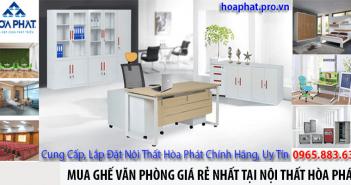 Mua ghế văn phòng giá rẻ nhất tại nội thất Hòa Phát
