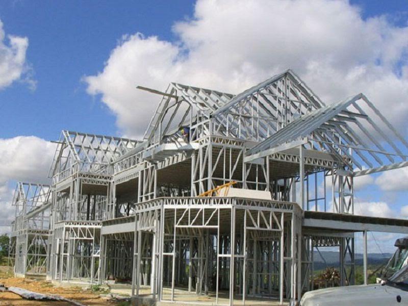 Các cấu kiện cơ bản của khung nhà thép