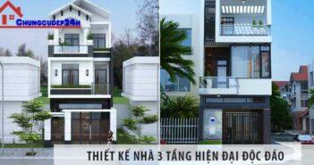 Việt Architect Group giới thiệu thiết kế Nhà 3 tầng hiện đại